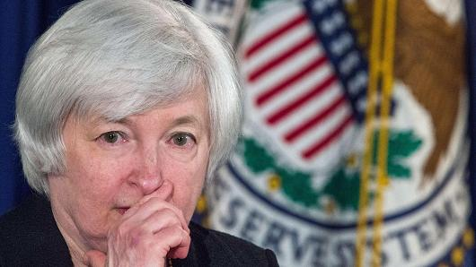Futures turn lower on inflation data; Yellen speech eyed