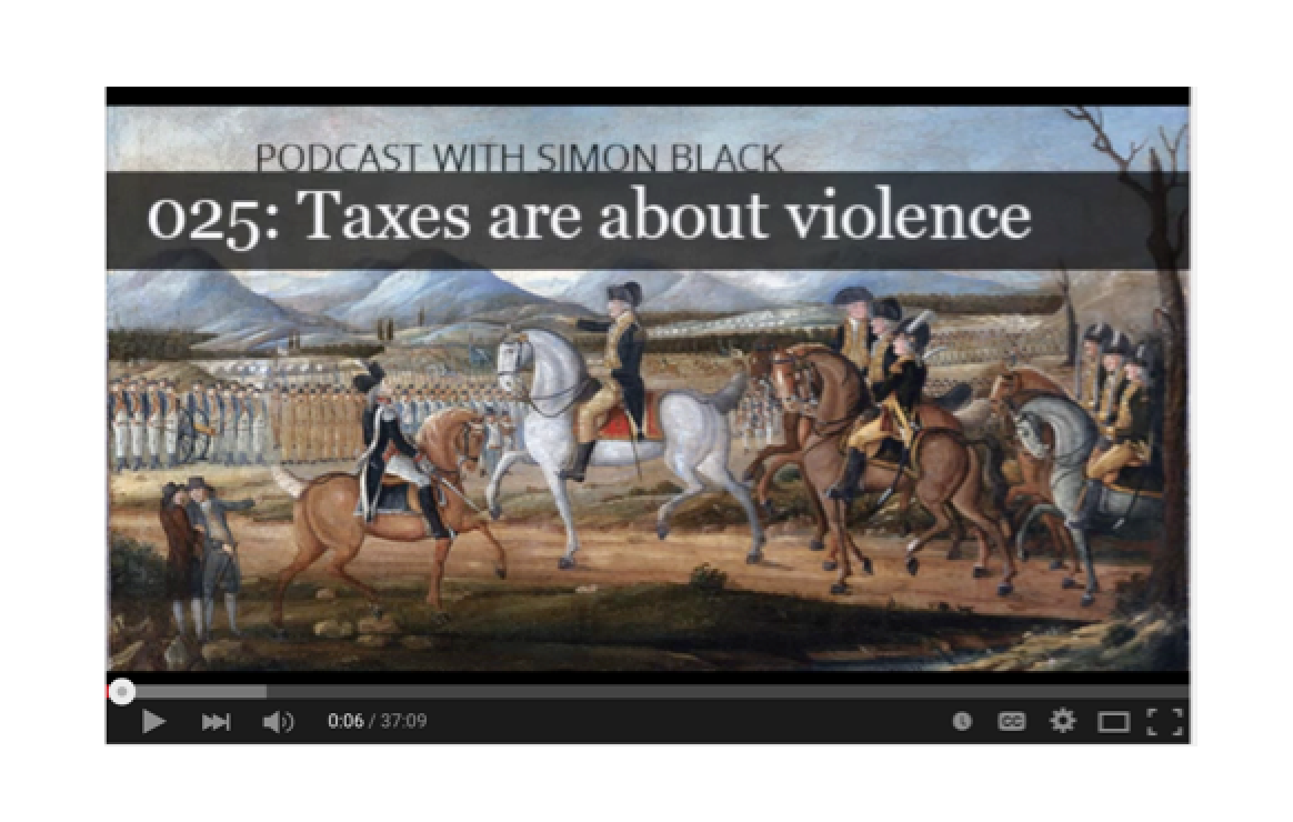 Taxes are about violence