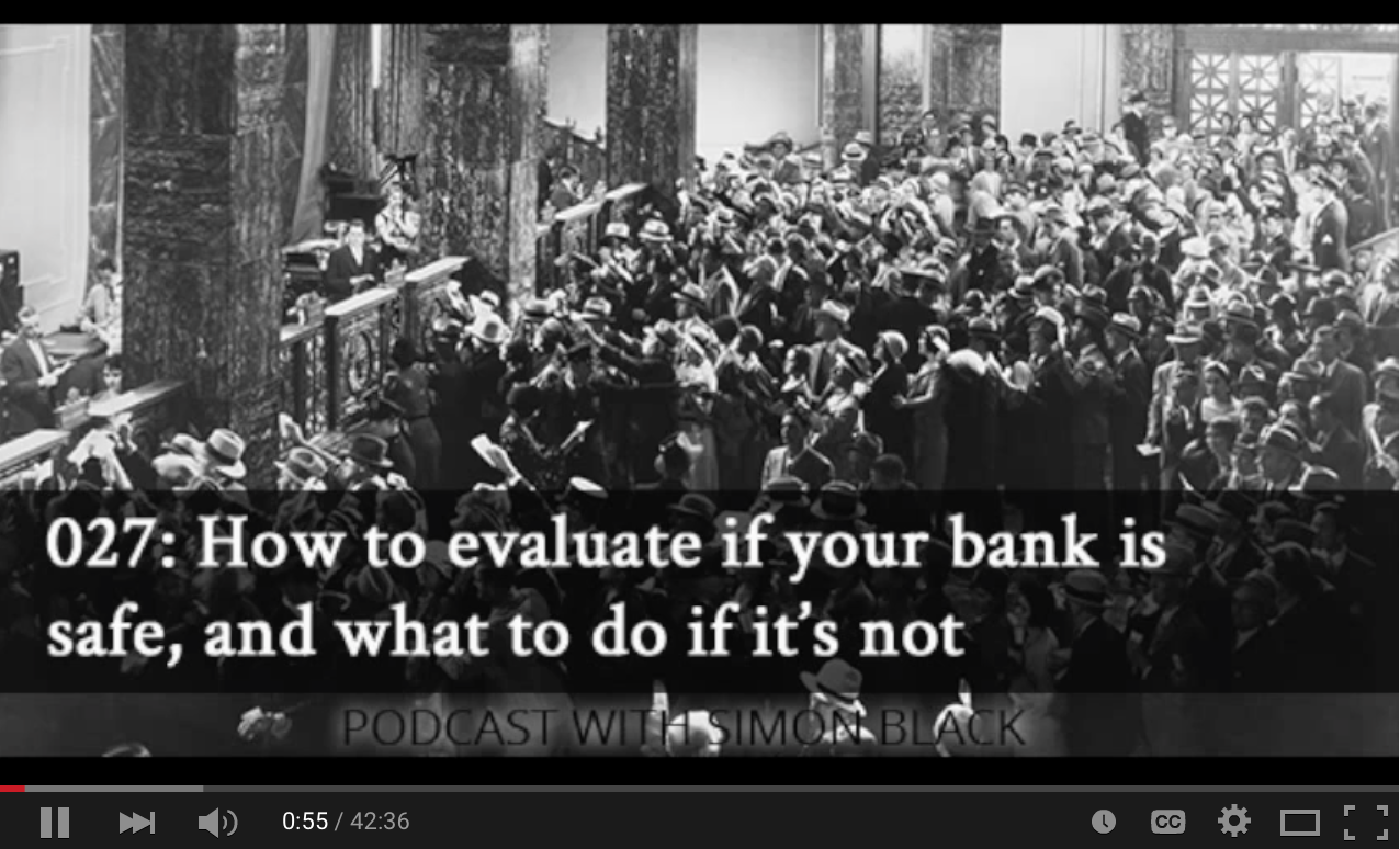 How to evaluate if your bank is safe, and what to do if it�s not