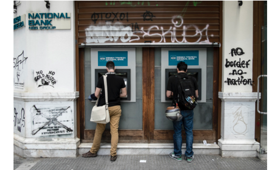 Greek Bank Deposits Bleeding Worsens in April