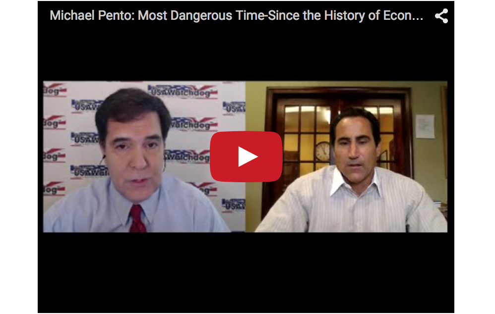Michael Pento - Most Dangerous Time-Since the History of Economics, Gold and Silver Update and More!