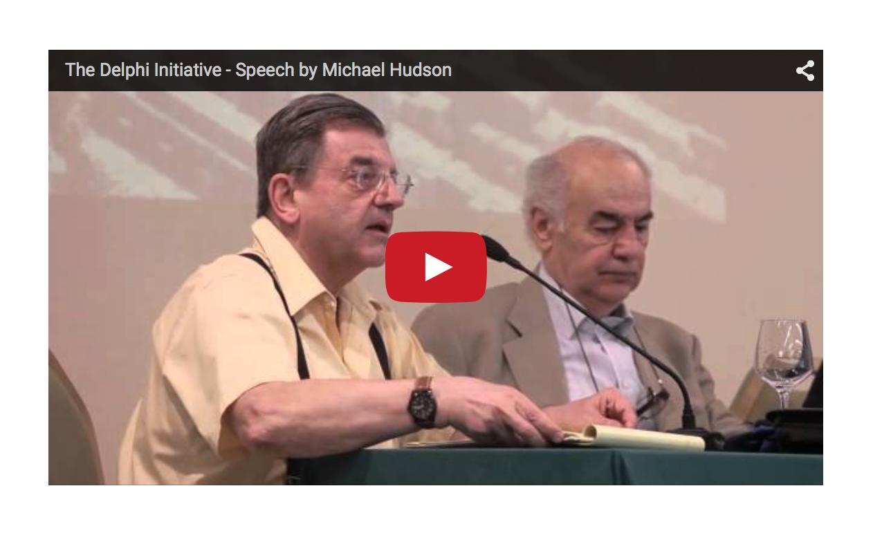 Greek Asset Stripping Similarities - Michael Hudson