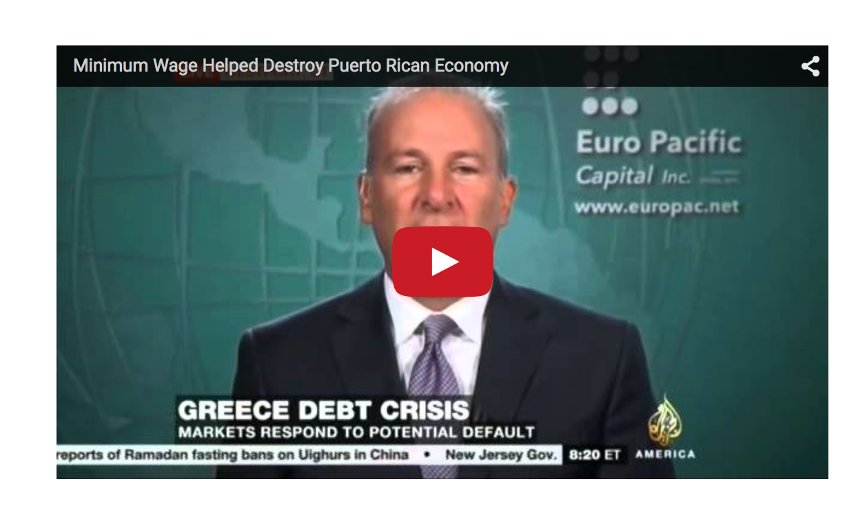 The Greece and Puerto Rico Crises