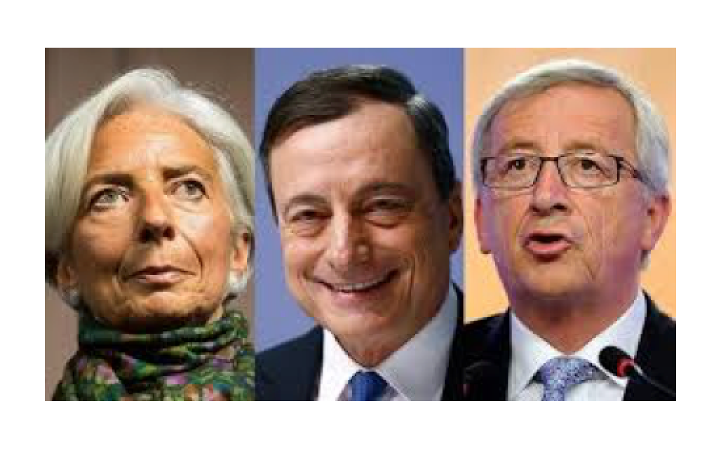 Juncker, Draghi and Lagarde Should Hang Their Heads In Shame