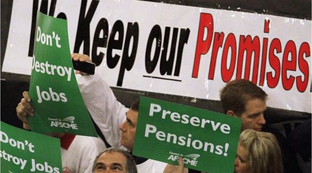 Pensions At Risk - States Face Shaky Financial Futures