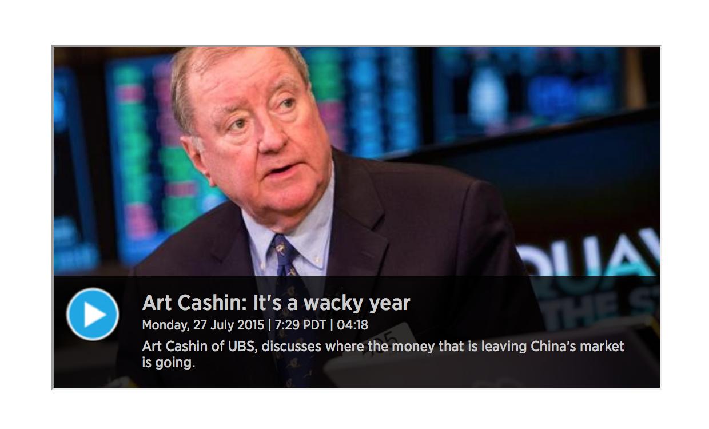 Art Cashin - Still say's Interest Rates on Hold until 2016