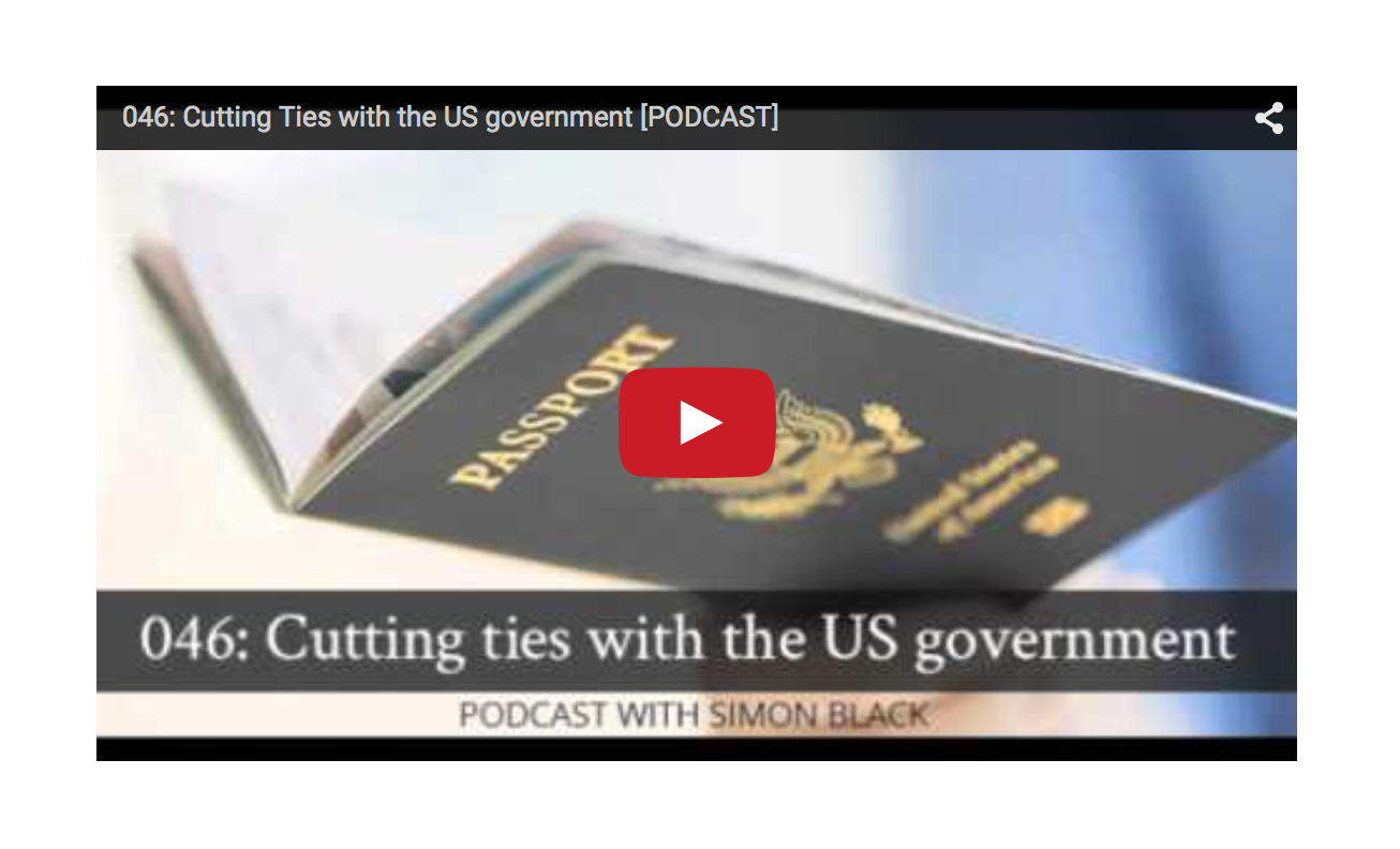 Cutting Ties with the US government