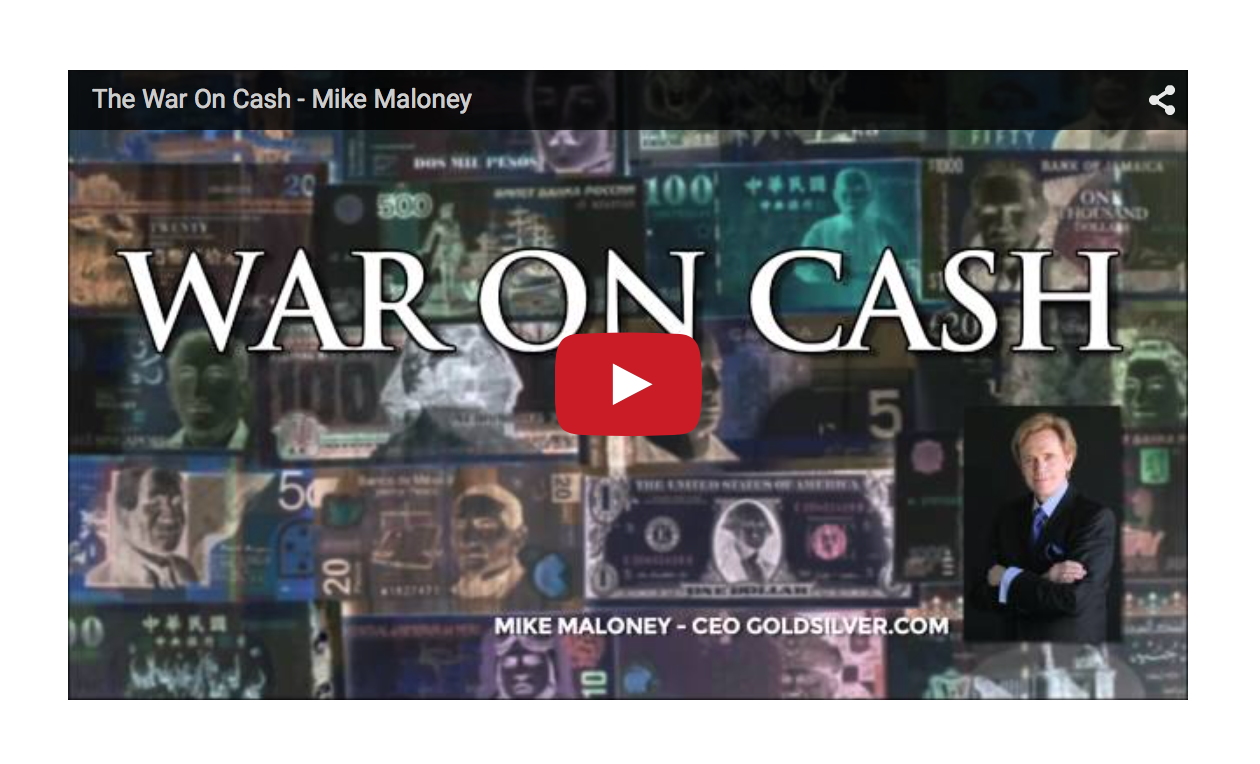 The War On Cash - Mike Maloney