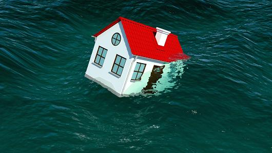 More homeowners drowning in debt