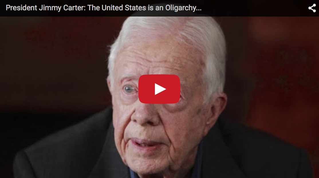 Jimmy Carter Rages At What The U.S. Has Become: