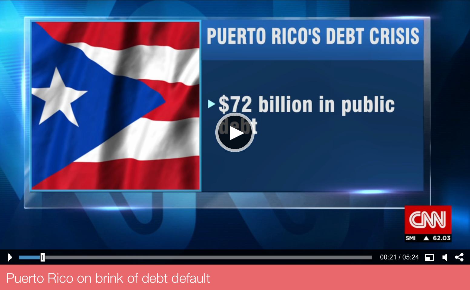 Puerto Rico's Crisis