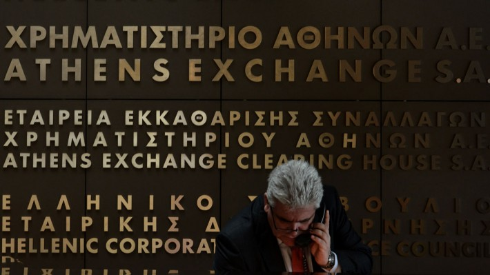 Greece crisis: bank shares collapse - economic 'freefall'