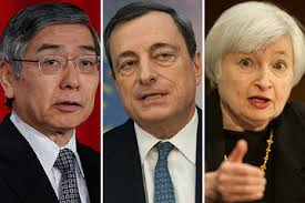 Fed, ECB, BOE Officials All Say They See Inflation Rising