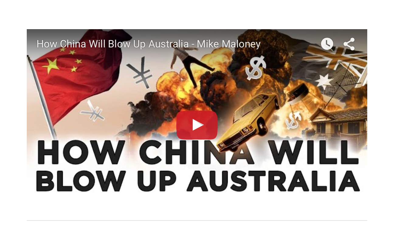 How China Will Blow Up Australia - Mike Maloney