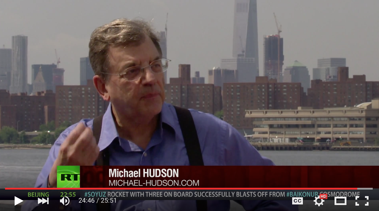 Max Keiser Interviews Professor of Economics, Michael Hudson
