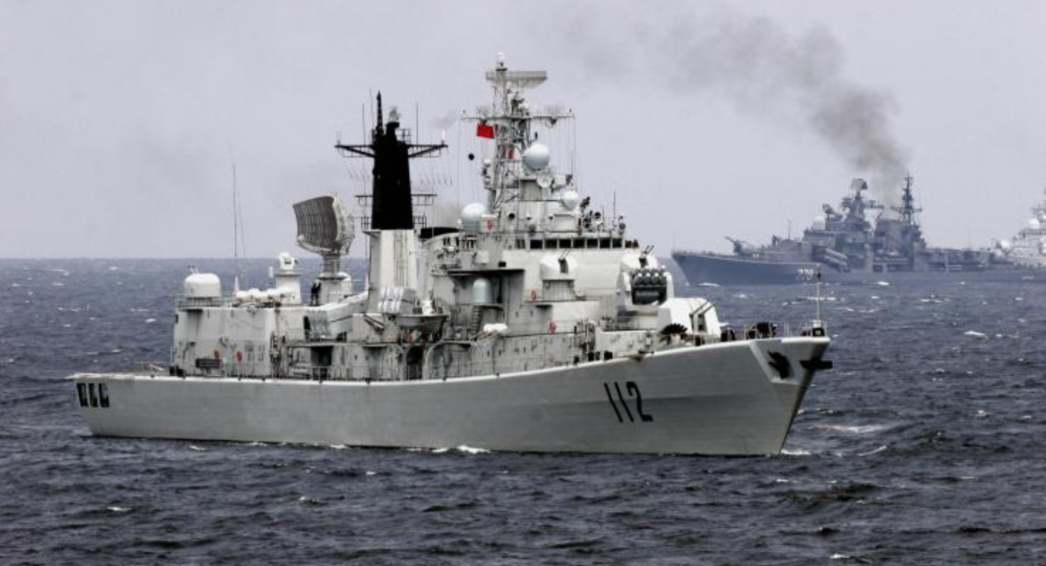 China Navy Ships Turn Back From Bering Sea: Presence Seen As Pacific Challenge To US