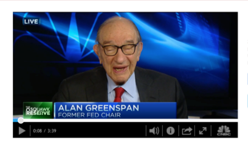 Greenspan - Were in a Mess