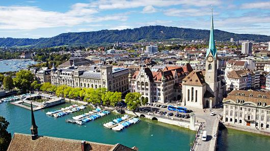 Swiss consumer prices fall most in 56 years