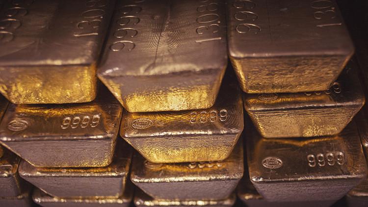 Registran un declive jam�s visto en los dep�sitos de oro del banco de la Fed de Nueva York