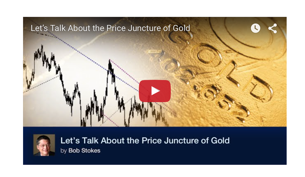 The Current Price Juncture of Gold - Elliot Wave Intl