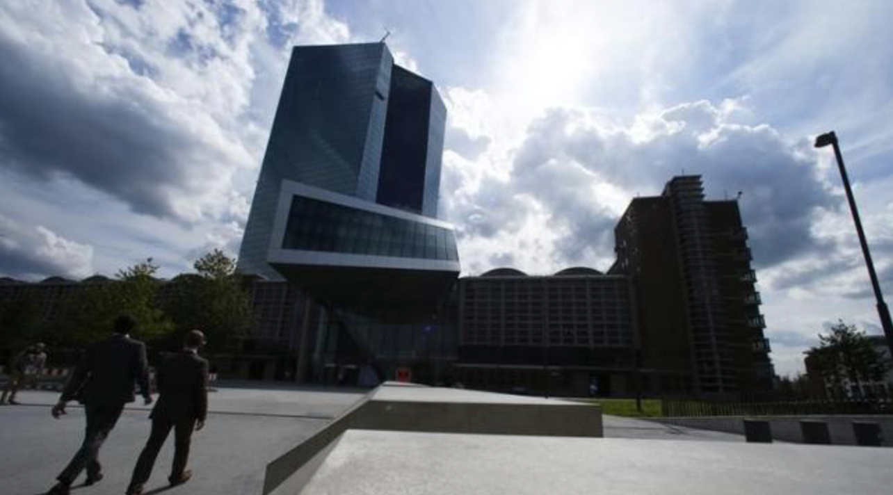 ECB discusses two-tiered bank charges, broader bond buys - officials