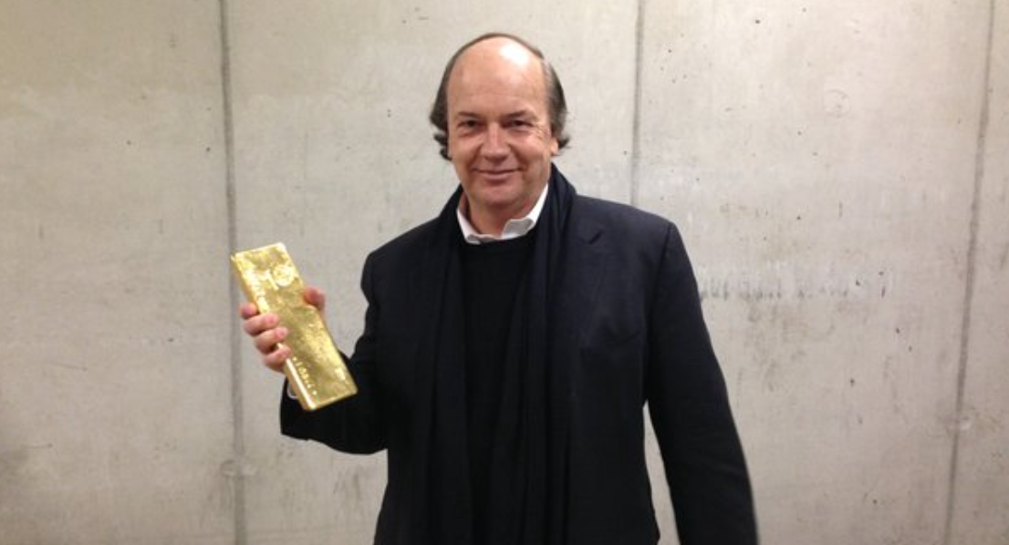 A Tweet From Jim Rickard's on China's Gold