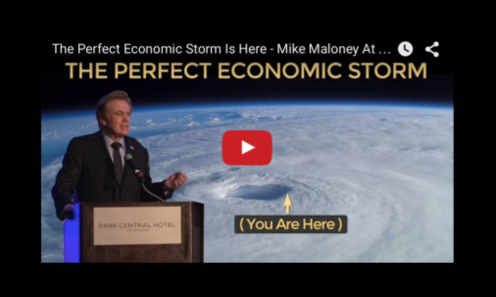 The Perfect Economic Storm Is Here - Mike Maloney At Silver Summit 2015