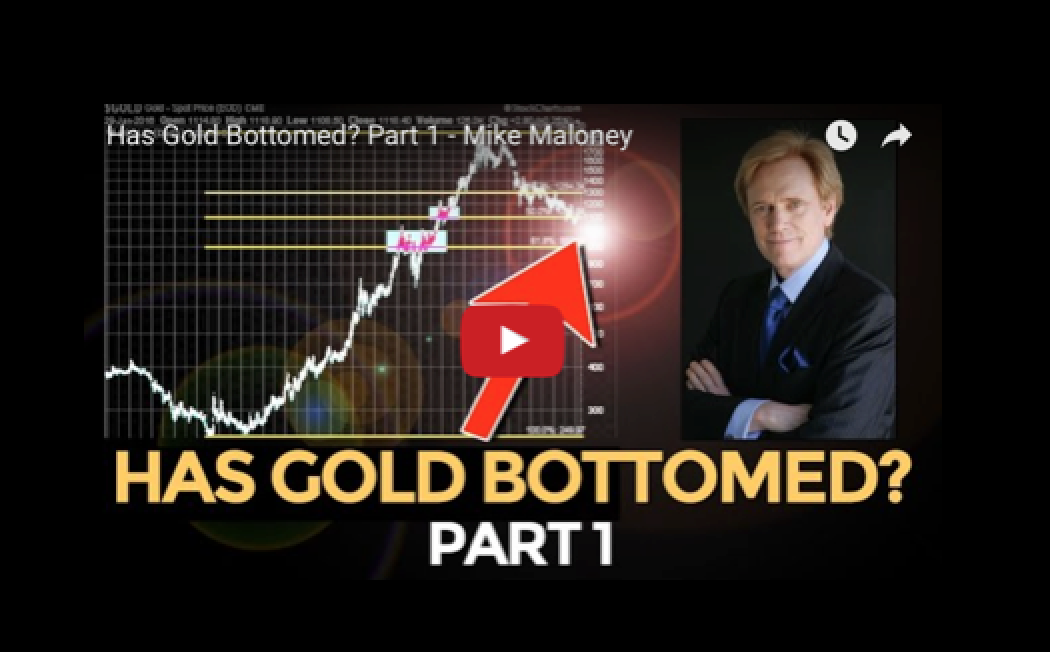 Has Gold Bottomed? Part 1 - Mike Maloney
