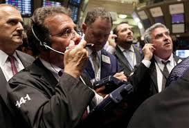 Dow down -400 points, Gold over $1,200.00