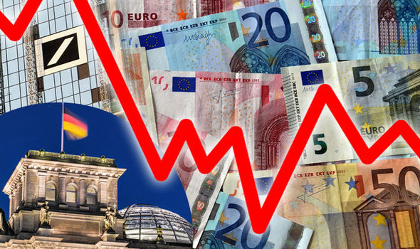EU facing IMMINENT recession? Germany on brink as warning issued over Deutsche Bank