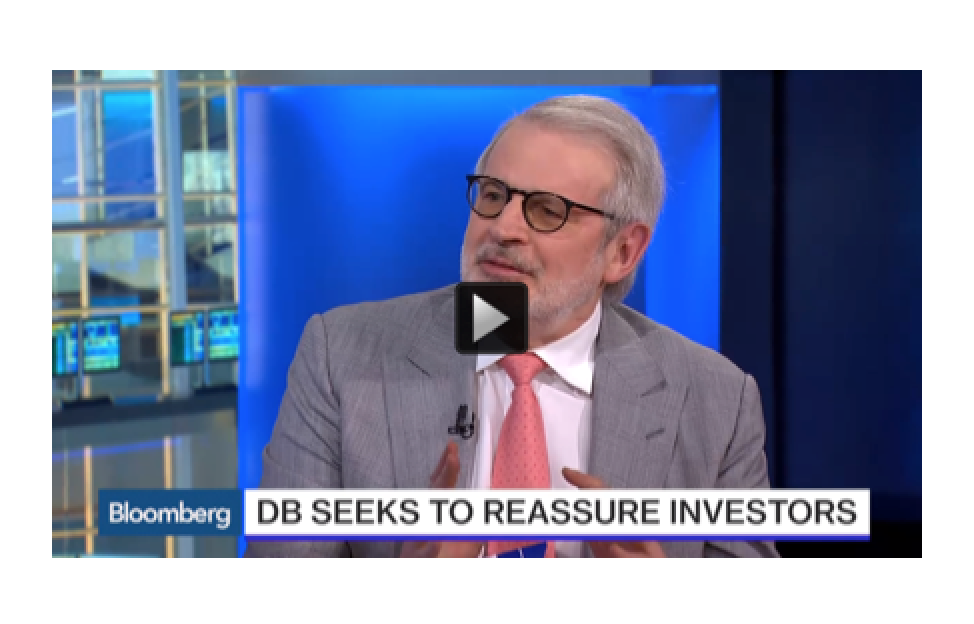 David Stockman - Deutsche Bank AG: CEO John Cryan is Lying