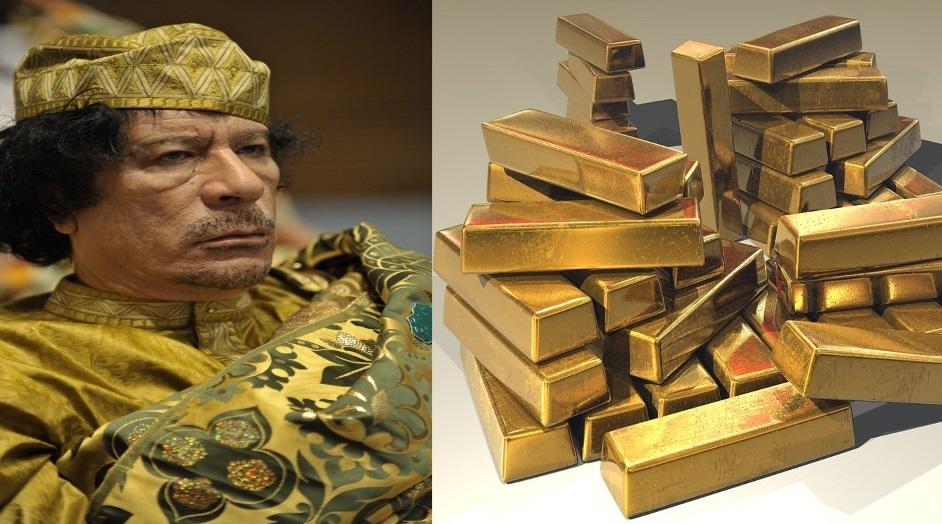 La intervención de la OTAN en Libia fue para que Gadafi no creara una moneda respaldada por oro