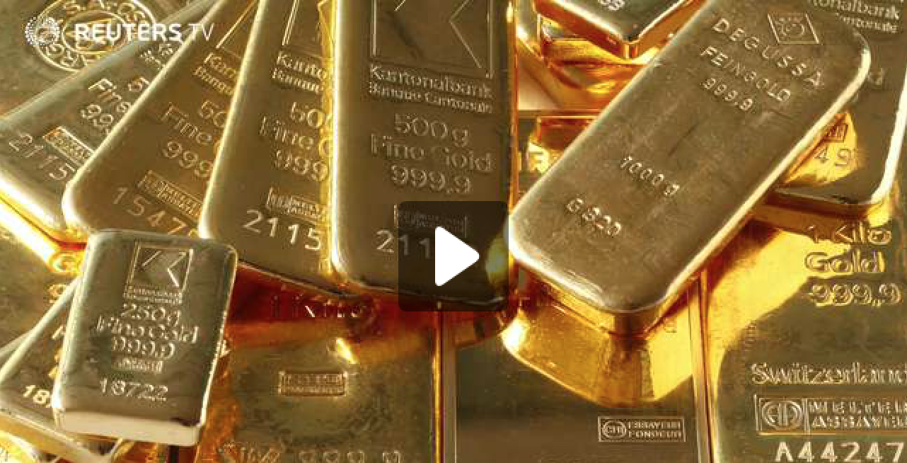 Gold surges to one-year high on financial uncertainty fears