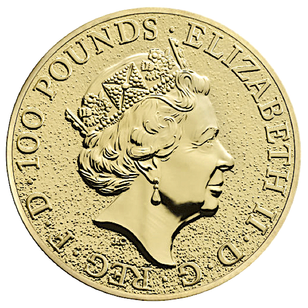 1 Oz British Queen S Beasts Dragon Gold Coin 2017 Buy