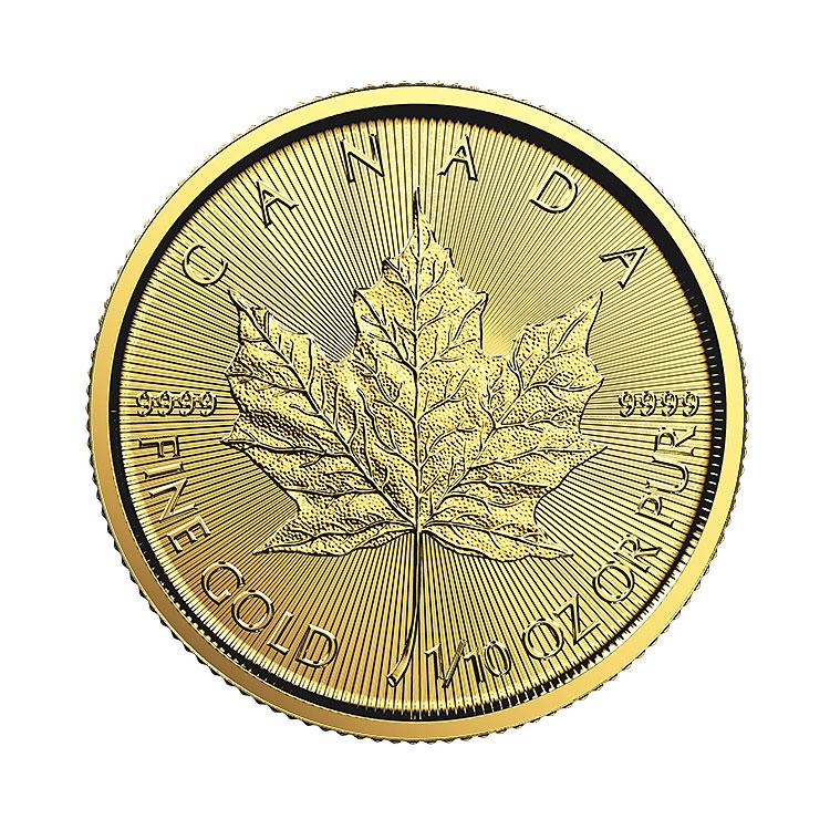 1 10 Oz Gold Maple Leaf Coin 2016 Buy Online At Goldsilver 174
