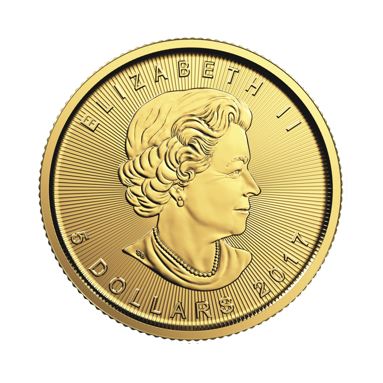 1 10 Oz Gold Maple Leaf Coin 2016 Buy Online At