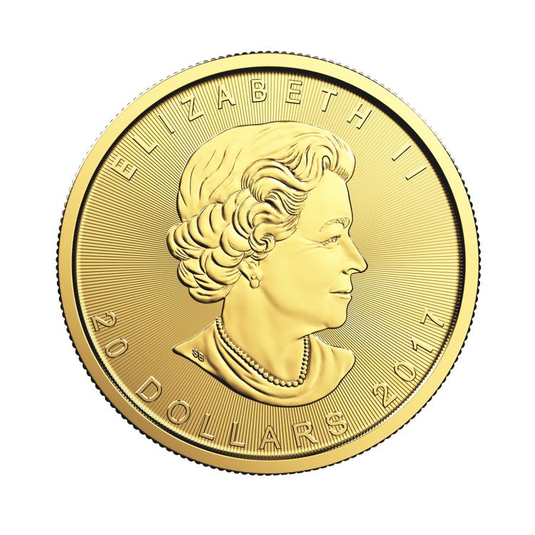 1 2 Oz Canadian Gold Maple Leaf Coin 2016 Buy Online