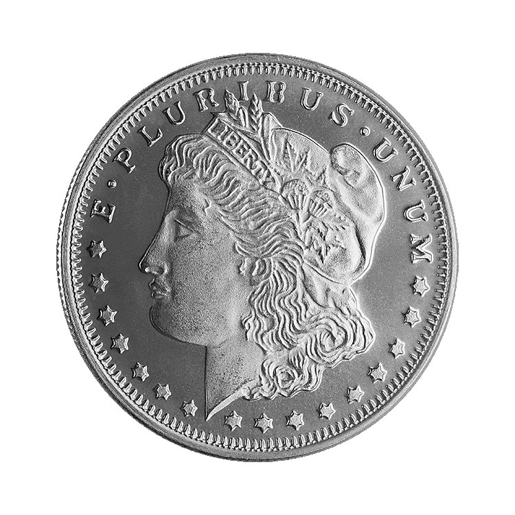 1 2 Oz Morgan Silver Round For Sale At Goldsilver 174
