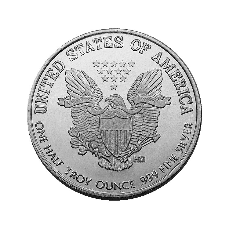 1 2 Oz Walking Liberty Silver Round For Sale At Goldsilver 174
