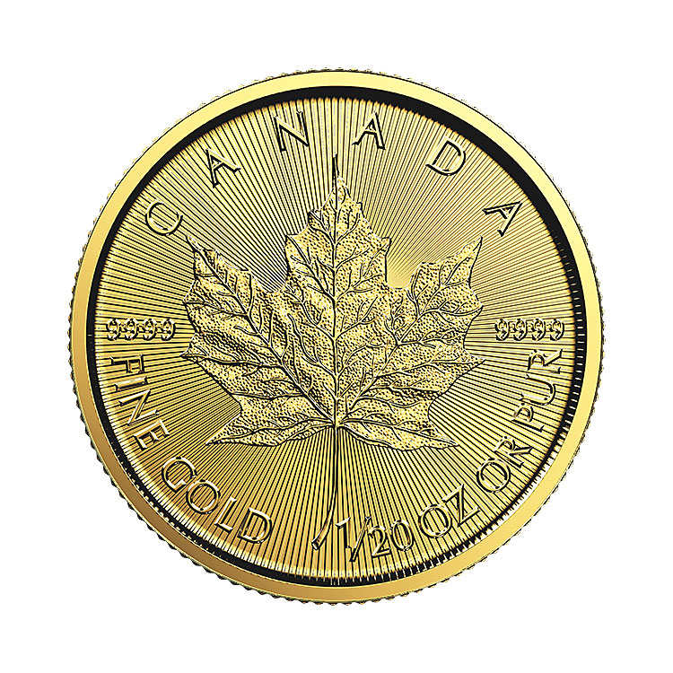 1 20 Oz Canadian Maple Leaf Gold Coin 2018 Buy Online