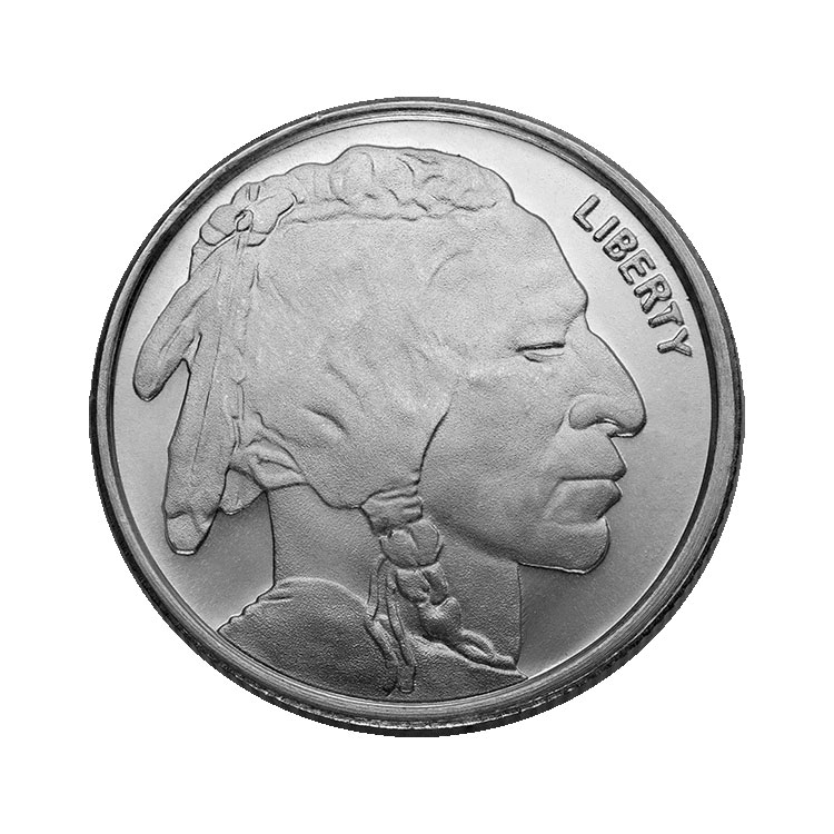 1 4 Oz Silver Buffalo Round For Sale At Goldsilver 174