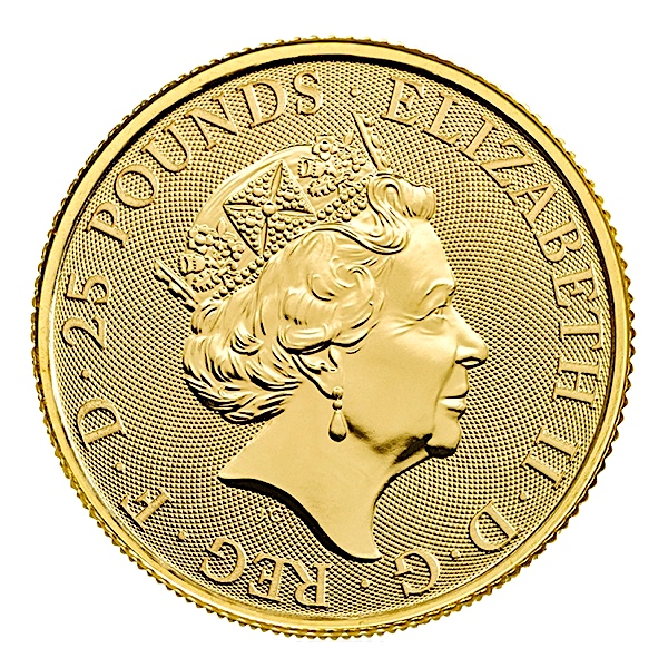 1 4 Oz British Queen S Beasts Unicorn Gold Coin 2018