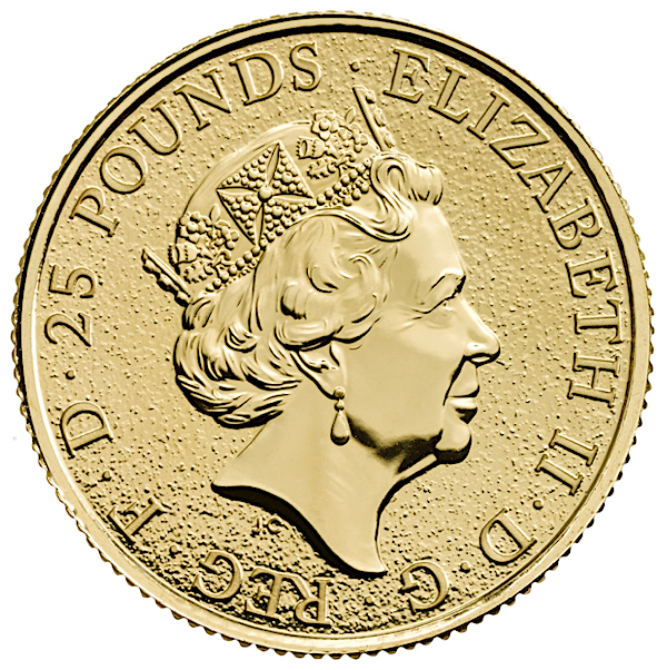 1 4 Oz British Queen S Beasts Griffin Gold Coin 2017