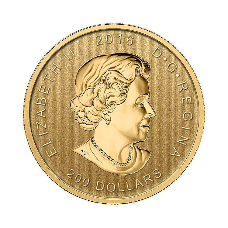 2016 1 Oz Roaring Grizzly Gold Coin For Sale At Goldsilver 174
