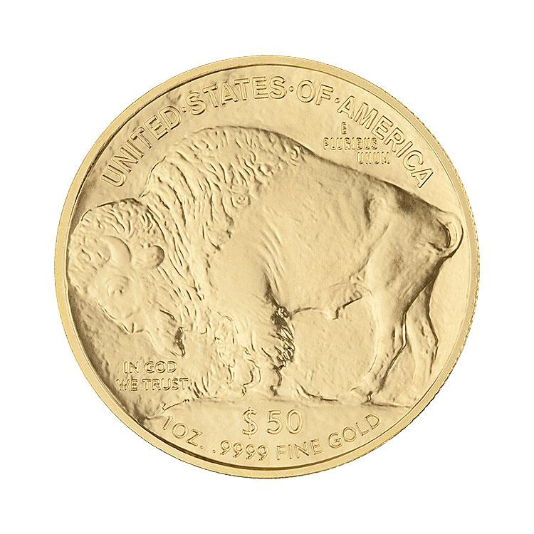 goldsilver.com - 1 oz American Gold Buffalo Coin - Random Year Back