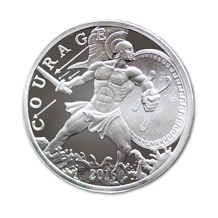 1 Oz Ajax Silver Round For Sale At Goldsilver 174