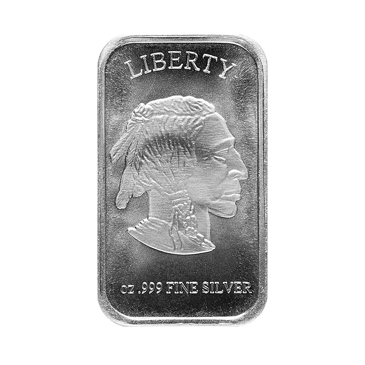 1 Oz Buffalo Silver Bar For Sale At Goldsilver 174