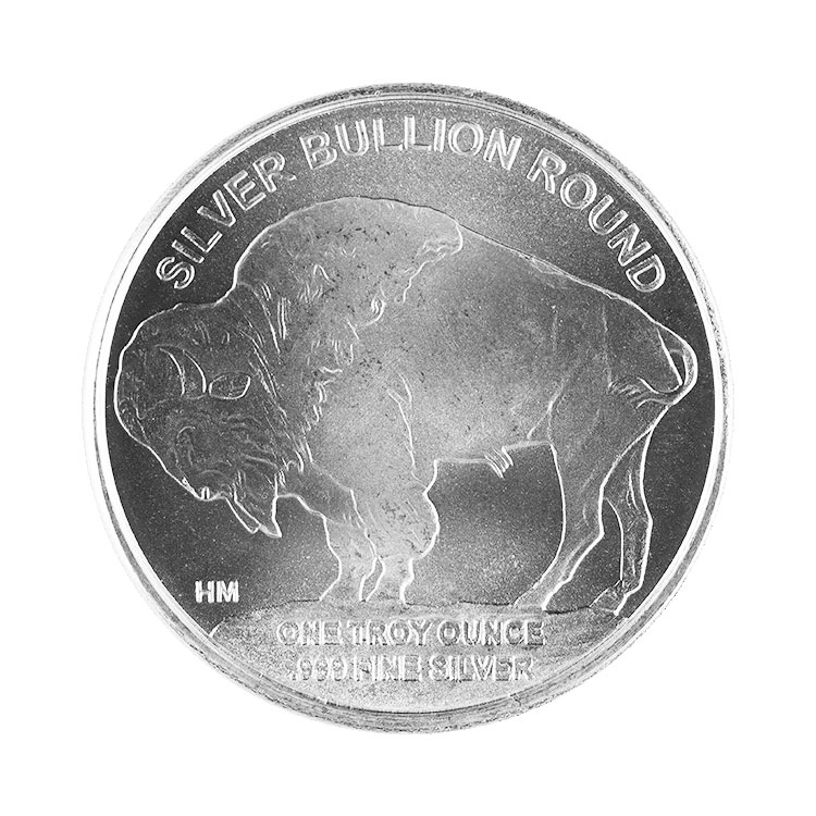 1 Oz Silver Buffalo Round Hm Mark For Sale At Goldsilver 174