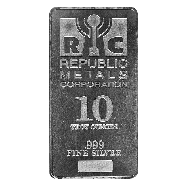 10 Oz Silver Bar Lbma Certified Various Imprints