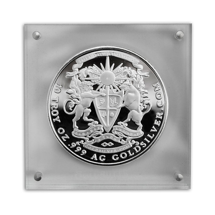 10 Ounces Of Silver At Spot Price